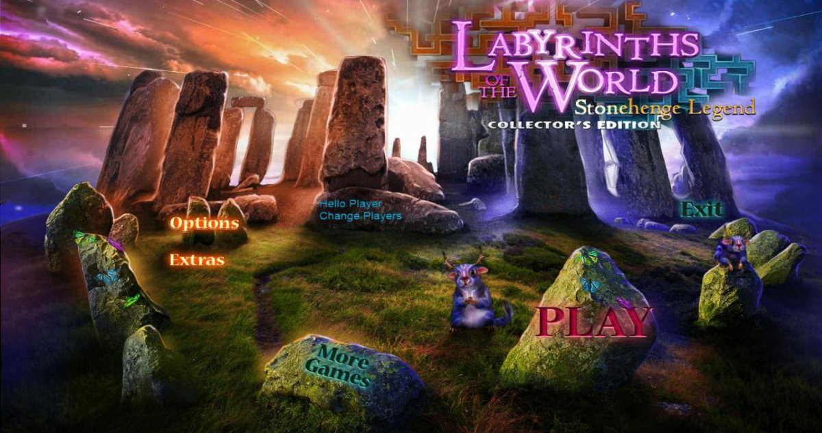 Labyrinths of the World 4: Stonehenge Legend