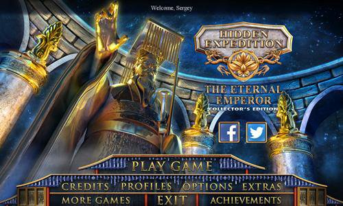 Hidden Expedition 12: The Eternal Emperor