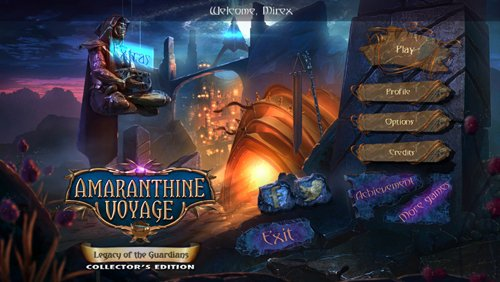 Amaranthine Voyage 7: Legacy of the Guardians CE