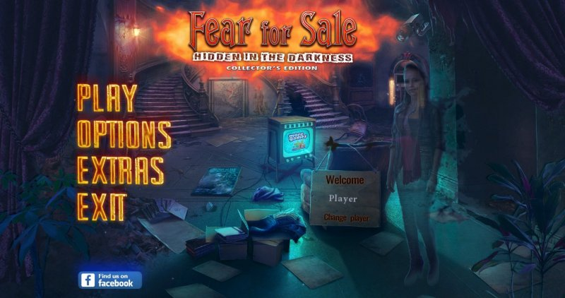 Fear For Sale 10: Hidden in the Darkness CE