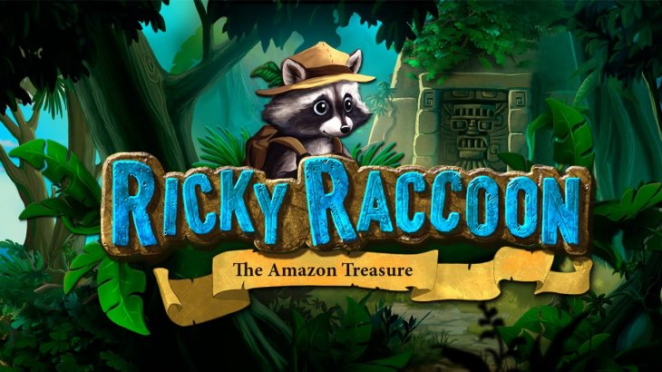 Ricky Raccoon the Amazon Treasure