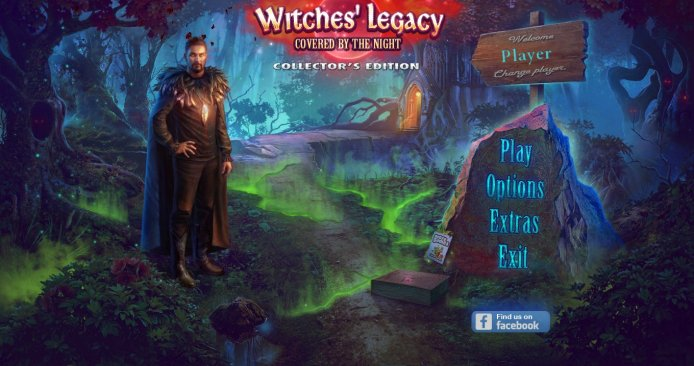 Witches Legacy 10: Covered by the Night CE