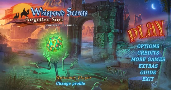 Whispered Secrets 7: Forgotten Sins Collectors Edition