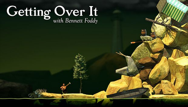 Getting Over It with Bennett Foddy