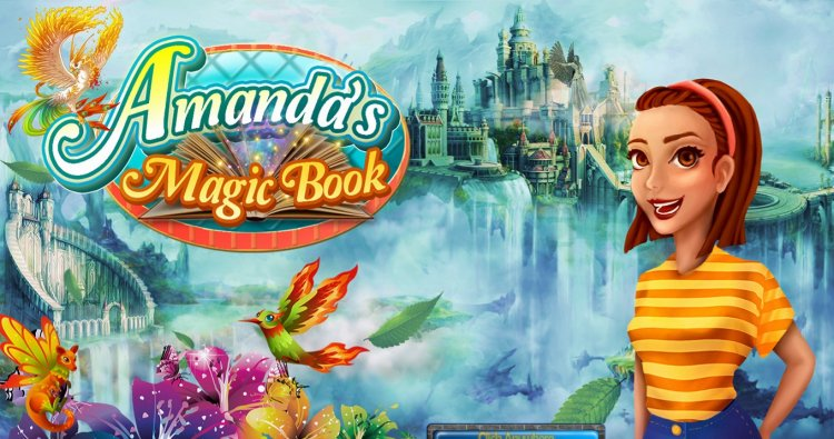 Amandas Magic Book