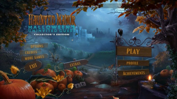 Haunted Manor 5: Halloweens Uninvited Guest Collectors Edition
